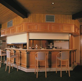 sws seceuroguard lightweight security shutters for bar servery, pubs, servery hatches