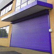 seceuroshield 6000 shopfront security roller shutter electrically operated