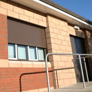 sws seceuroshield 3800 built in brown on commercial premises